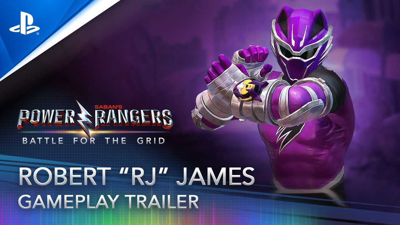 "Robert ""RJ"" James stößt zu Power Rangers: Battle for the Grid dazu"
