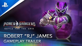 PlayStation Power Rangers: Battle for the Grid - RJ Gameplay Trailer anuncio