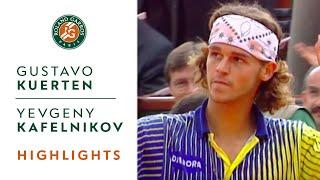 Gustavo Kuerten v Yevgeny Kafelnikov Highlights - Men