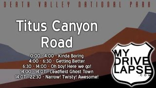 4-Wheel Drive: Titus Canyon Road, Death Valley