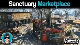 Fallout 4 - Sanctuary Marketplace Build