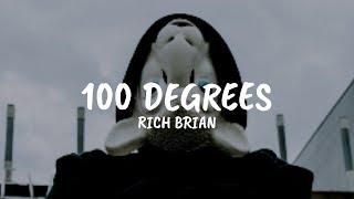 100 Degrees   Rich Brian || Lyrics Dan Terjemahannya