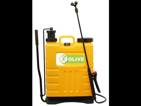 Olive Agricultural Battery Sprayer Pump