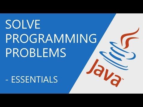 Java Programming - Solve Programming Problems
