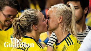 'We're powerful together': Harder and Eriksson on being a gay couple in football