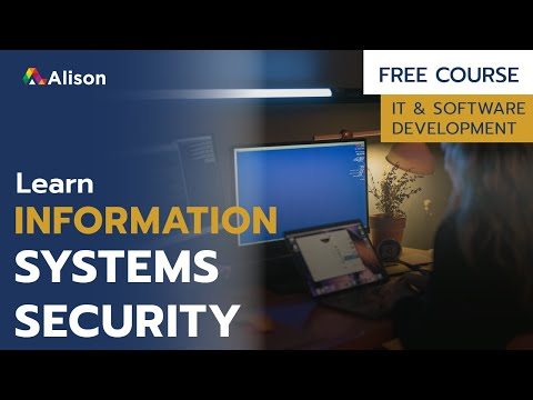 Information Systems Security- Free Online Course with Certificate ...