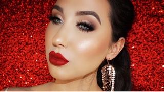 Valentine's Makeup Tutorial - Soft & Flirty Smokey Eye