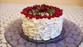 Торт за 10 минут БЕЗ ВЫПЕЧКИ самый ПРОСТОЙ и БЫСТРЫЙ рецепт торта