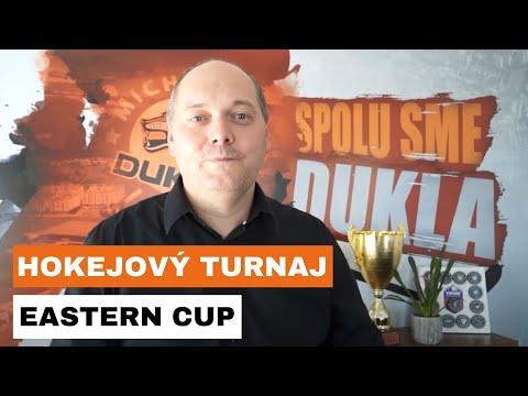 Pozvánka na hokejový turnaj EASTERN CUP