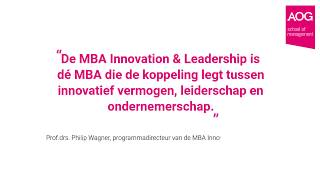 MBA Innovation & Leadership