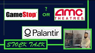 PLTR UPDATE | AMC compared to GME | GAMESTOP | STOCK ABOUT TO EXPLODE