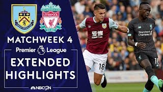 Burnley v. Liverpool | PREMIER LEAGUE HIGHLIGHTS | 8/31/19 | NBC Sports