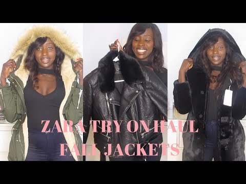 MUST HAVE FALL JACKETS FROM ZARA - BLACK FRIDAY SHOPPING ( UNDER $100 )