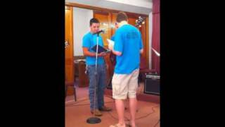 """Piney Grove Youth sings """"Somebody Touched Me"""""""