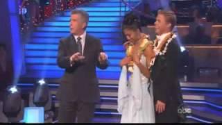 Nicole Scherzinger & Derek Hough - Dancing With The Stars - Waltz Week 7