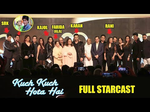 Kuch Kuch Hota Hai Starcast SHOKING Transformation Before & After 20 Yrs- Sharukh,SalmanKajol,Rani