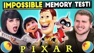 The Impossible Pixar Memory Test | Too Much Information