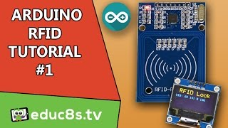 Arduino Tutorial: RFID Tutorial RC522 with an Arduino Uno and an OLED display from Banggood.com