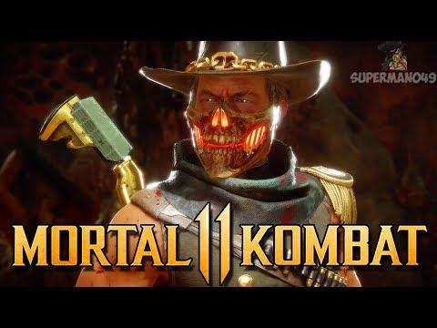 """Playing With Erron Black's Trap Variation! - Mortal Kombat 11 """"Erron Black"""" Gameplay"""