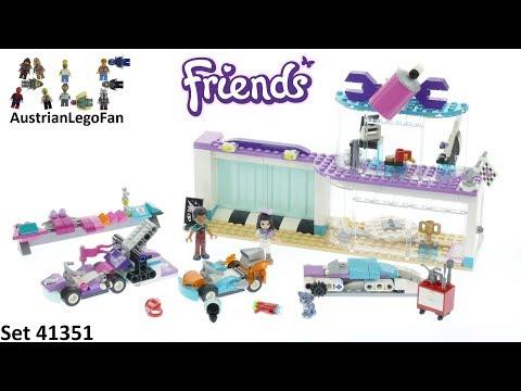 Vidéo LEGO Friends 41351 : L'atelier de customisation de kart