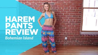 Review Of The Harem Pants From Bohemian Island