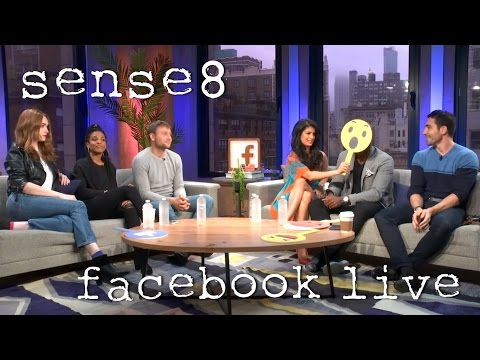Facebook Live: Sense8 Cast Q&A - COMPLETE (04/26/17) #Sense8