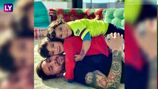 Fathers Day 2020: Photos That Prove Why Lionel Messi Is Among The Coolest Dads In Sports  IMAGES, GIF, ANIMATED GIF, WALLPAPER, STICKER FOR WHATSAPP & FACEBOOK