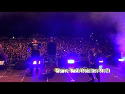 Camcorder-Ausschnitte: Stainless Steel-Gitarrist mit Onkelz-Sänger Kevin