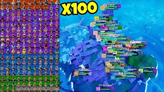 i got 100 random skins to scrim for $100 in fortnite… (found cheaters)
