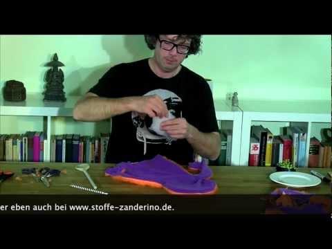 Anleitung (1/3) : So bauen wir eine Muppet-ähnliche Handpuppe (HD)