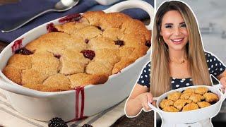 The PERFECT Blackberry Cobbler Recipe - Baking Basics