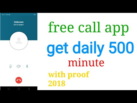 #freecall #aalltips free call how to get daily 500 minutes 2019