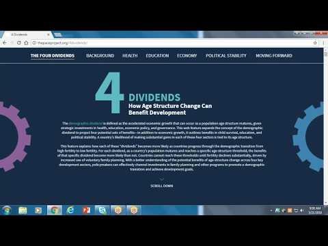 Four Dividends Webinar Video thumbnail