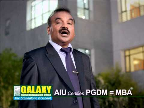 Galaxy Institute of Management video cover2