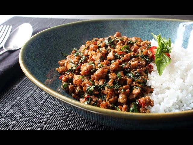 Basil Thai Chicken Food Wishes
