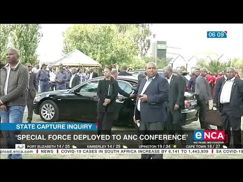 'Special force deployed to ANC conference'