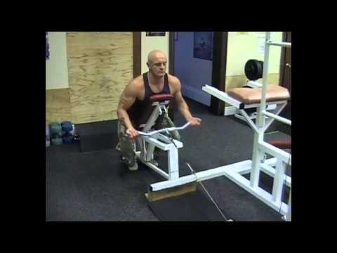 Reverse Grip Incline Bench Cable Row