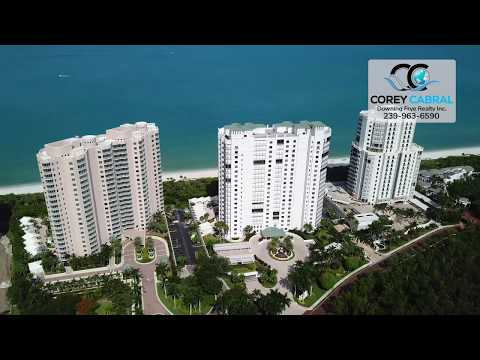Bay Colony Biltmore Naples Florida 360 degree video fly over