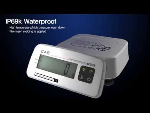 Balanza a prueba de agua CAS FW500   Washdown Scale