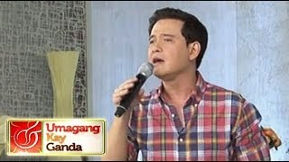 Raymond Lauchengco sings 'Nothings Gonna Change My Love for You'