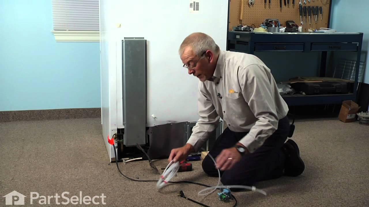 Replacing your Kenmore Refrigerator Water Tube Kit