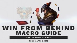 How Do You Win Games From Behind? Macro Is The Answer...