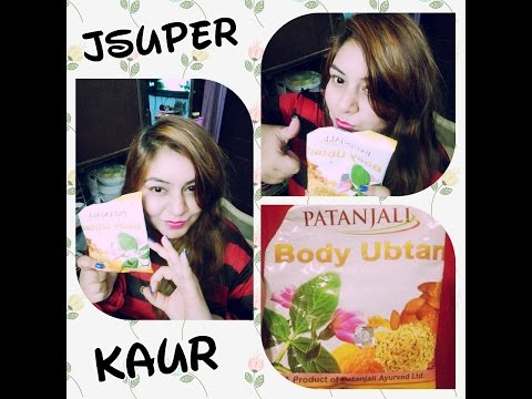 , title : 'Patanjali Body Ubtan Review in Hindi | Demo | Easy & Affordable | Best Way to Use | Jsuper Kaur'