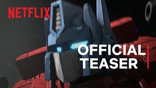 Transformers: War for Cybertron Trilogy - Earthrise   Teaser Trailer   Netflix
