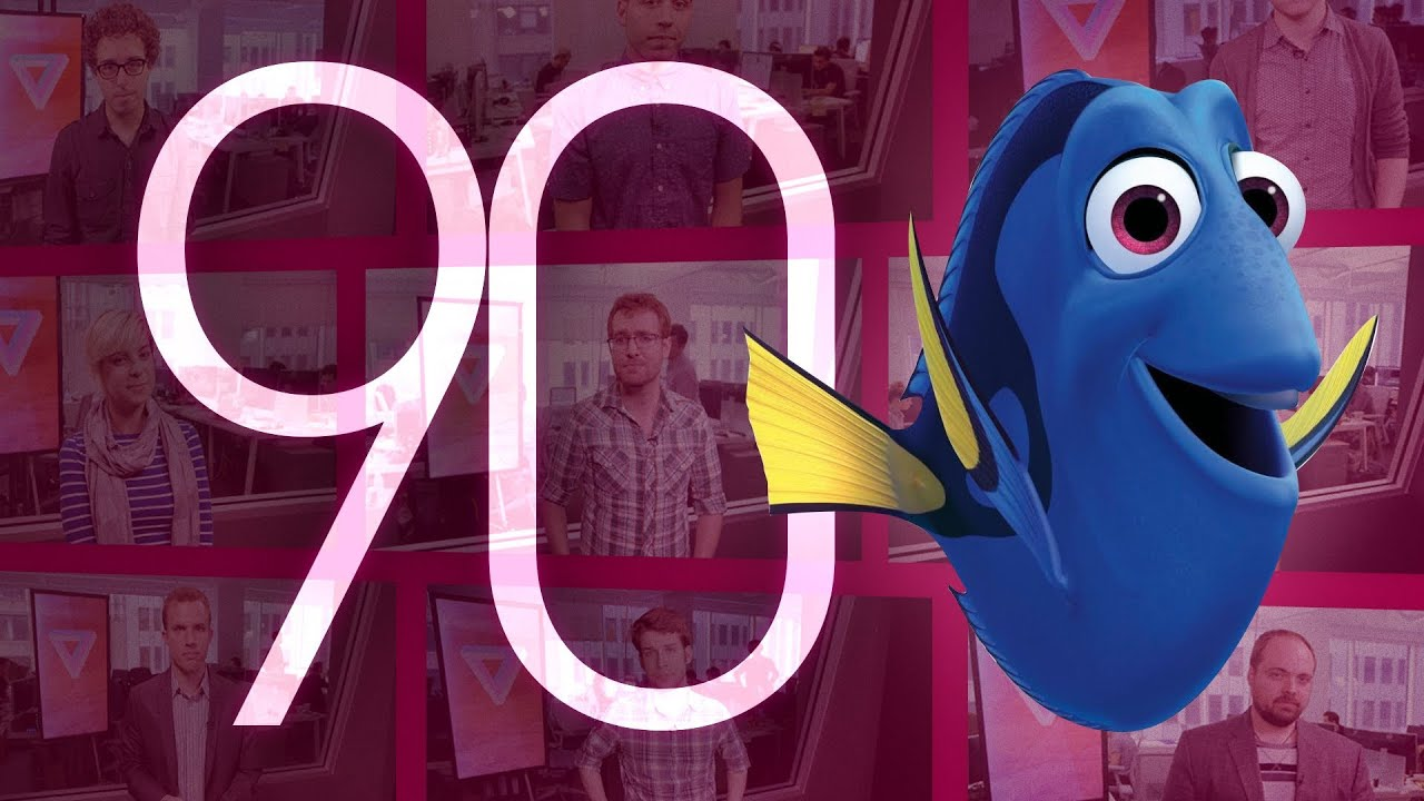 WikiLeaks, 'GTA V', and Pixar: 90 Seconds on the Verge thumbnail