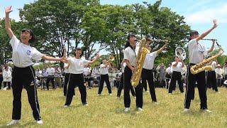 京都橘高校吹奏楽部 Sing Sing Sing ブラスエキスポ2019公開リハーサル「4k」Kyoto Tachibana SHS Band