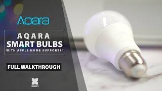 Aqara Smart Light Bulbs with Apple homekit support! [Xiaomify]