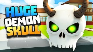 DEMON SKULL TOO BIG FOR HOUSE - Rick and Morty: Virtual Rick-ality VR - VR HTC Vive Pro Gameplay