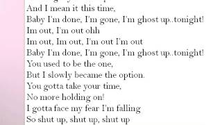 Jordin Sparks  I am Out Tonight Lyrics