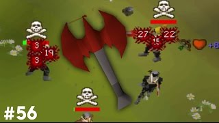 OSRS: Pure to PKing - #56 - Dragon thrownaxe!
